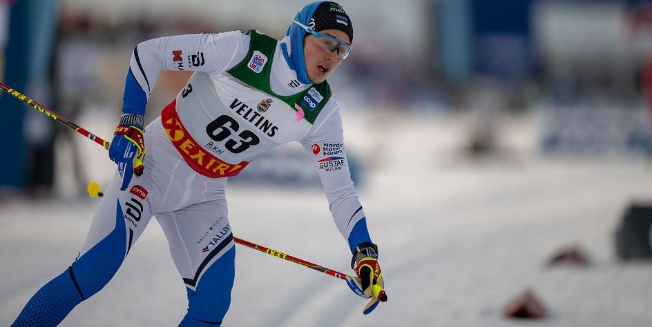 Лыжник сборной Эстонии Андреас Веерпалу