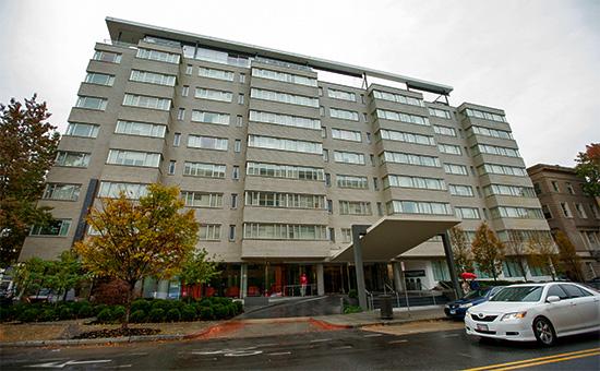 ОтельDupont Circle в Вашингтоне, где было обнаружено тело Михаила Лесина