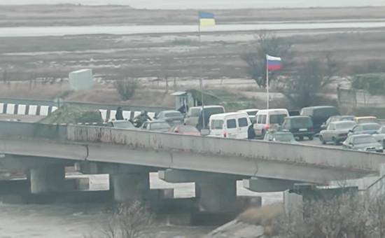 Местозадержания российских военных в Крыму