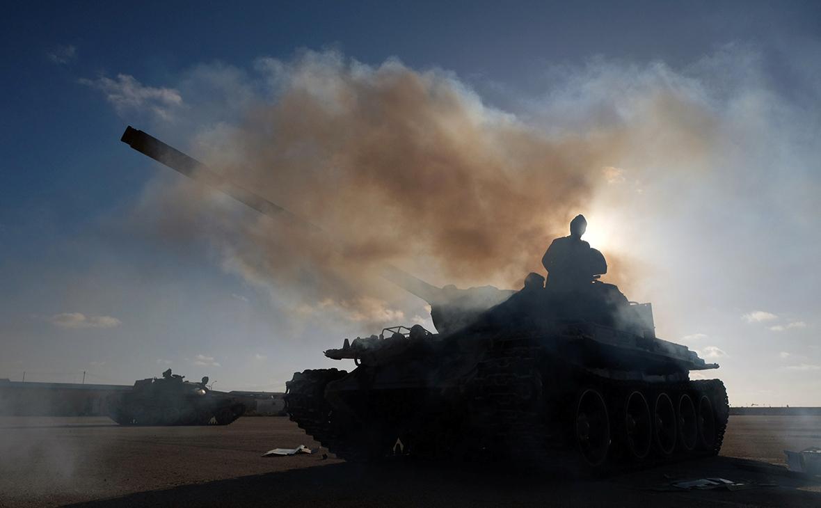 Члены Ливийской национальной армии