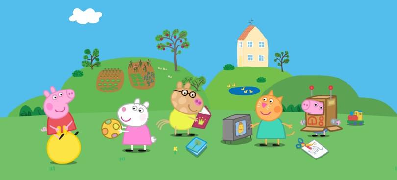 Фото: Print screen с сайта peppapig.com