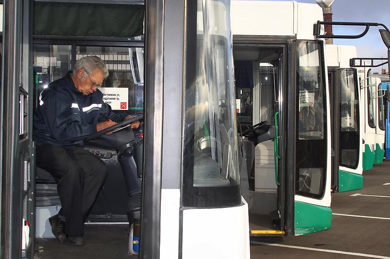 Санкт-Петербург. Новые городские автобусы