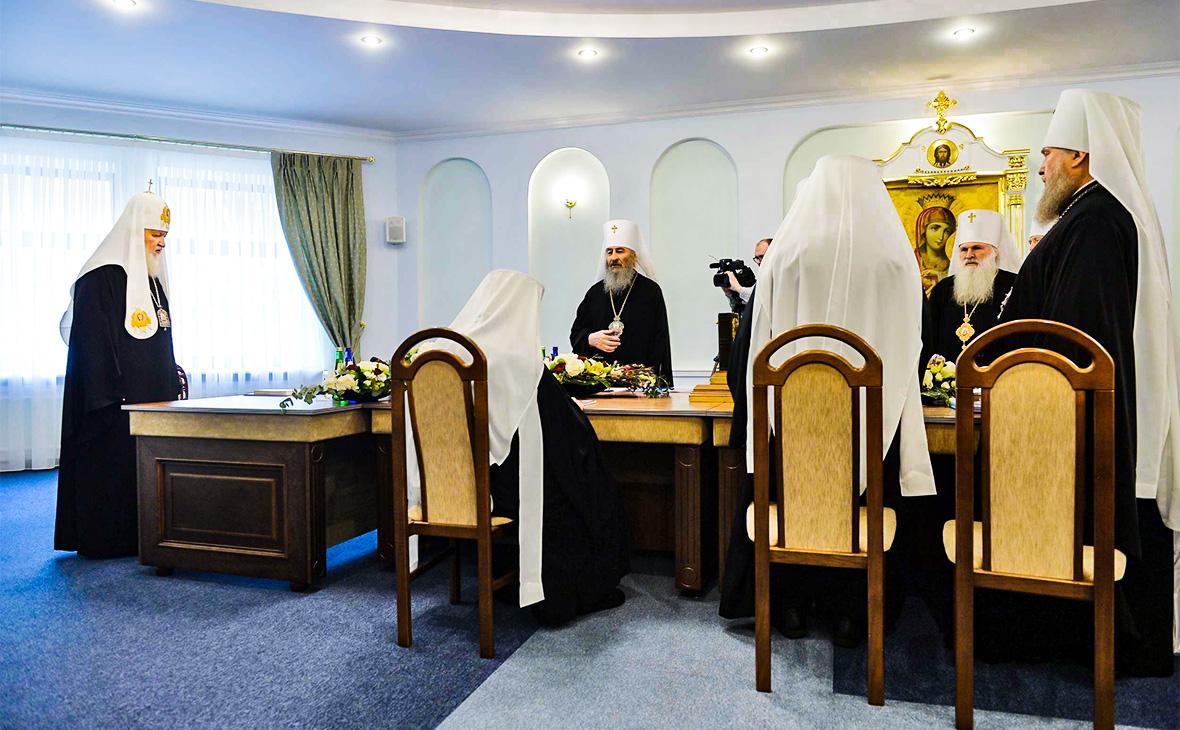 Заседание Священного синода РПЦ в Минске