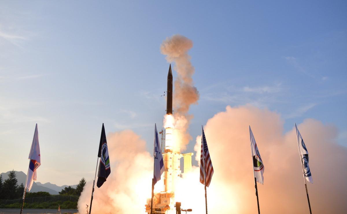 Испытания ракетного комплекса Hetz-3 на Аляске