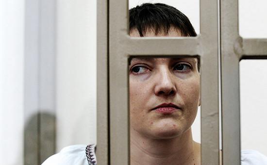 Осужденная вРоссии гражданка Украины Надежда Савченко, март 2016 года