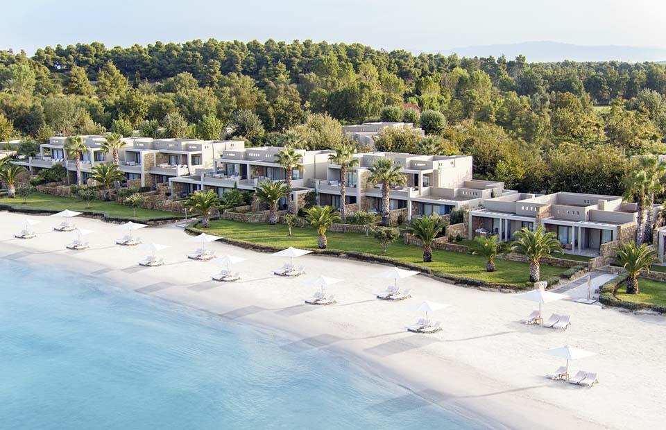 Отель Sani Asterias на полуострове Кассандра, Греция