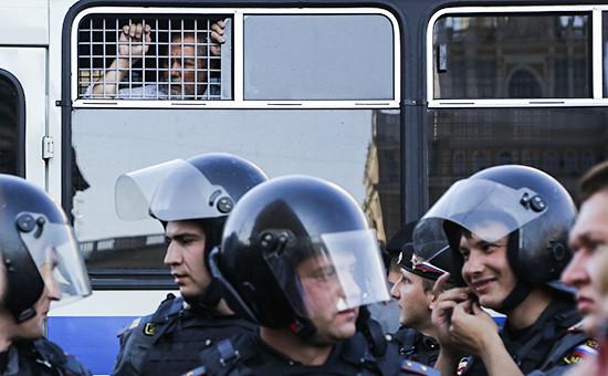Сотрудники полиции, 2012 год