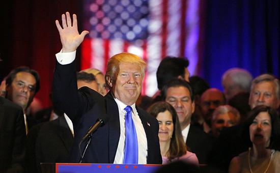 Кандидат впрезиденты США отРеспубликанской партии Дональд Трамп