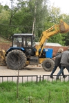 Фото: Бульдозеры приступили к сносу Черкизовского рынка