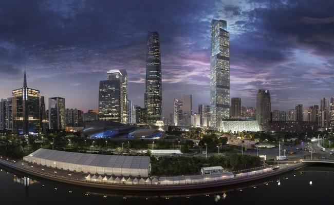 Небоскреб CTF Finance Centre вГуанчжоу, самое высокое здание, построенное в2016 году