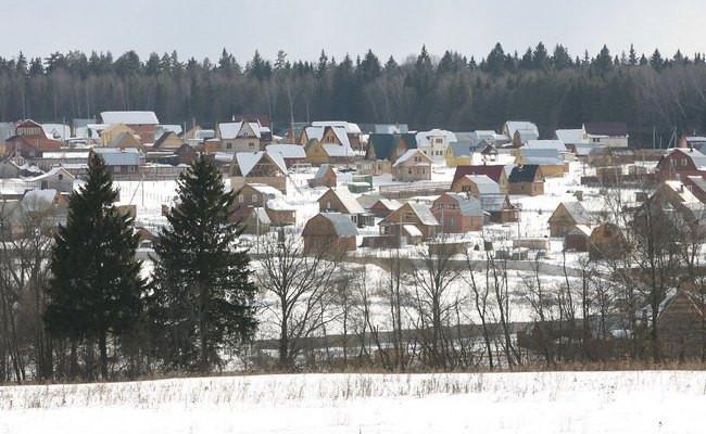 Дачный поселок вПодмосковье