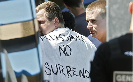 Задержание французской полицией российских болельщиковподороге вЛилль наматч Евро-2016