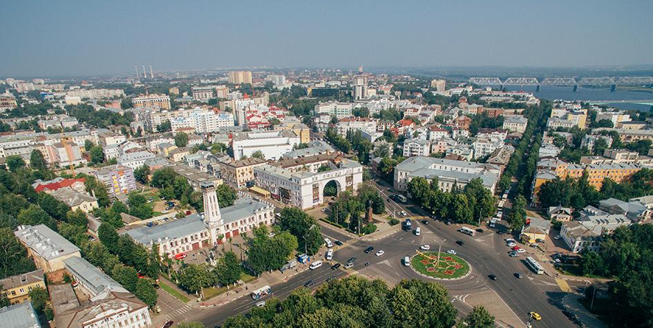 Виды Ярославля