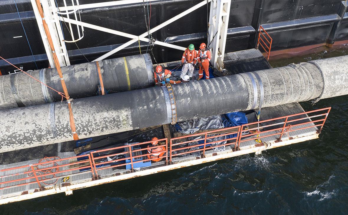 Фото: Axel Schmidt / Nord Stream 2