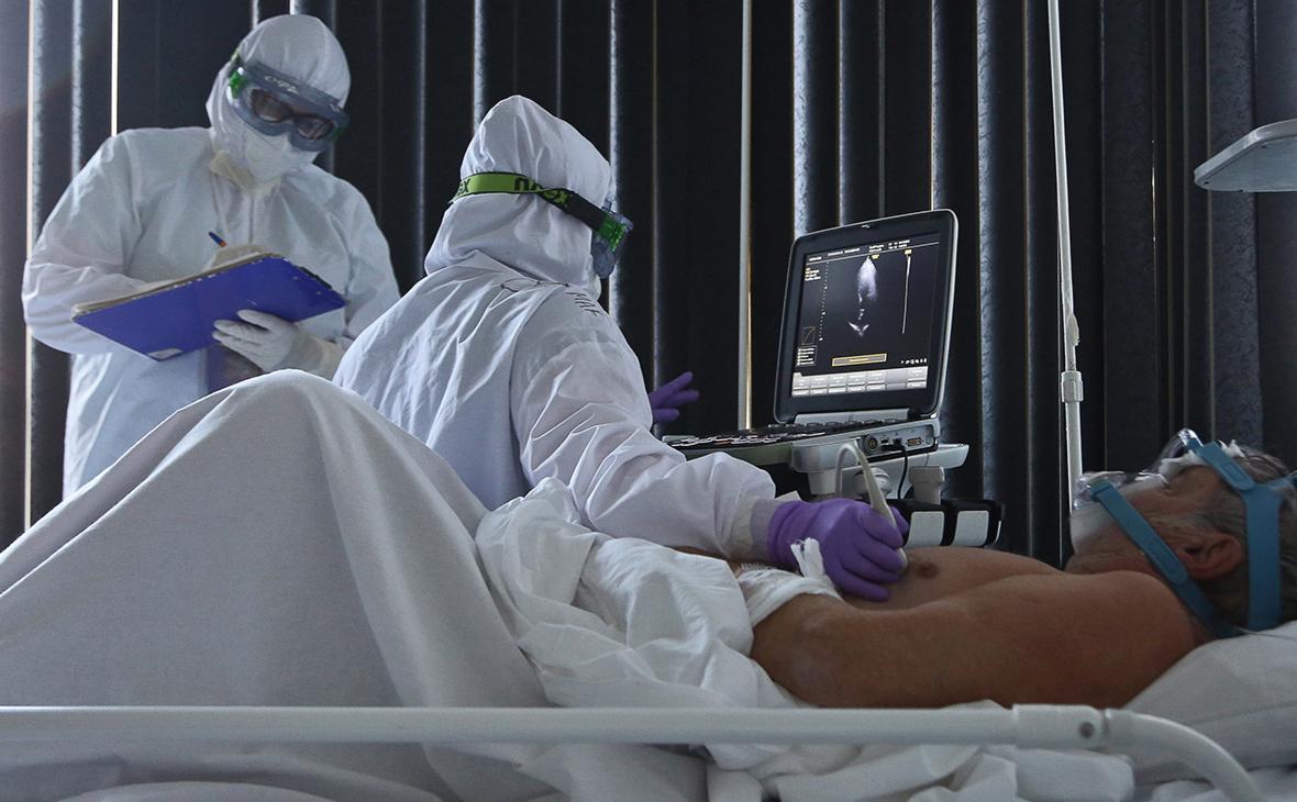 В России за сутки выявили 8,8 тыс. зараженных коронавирусом