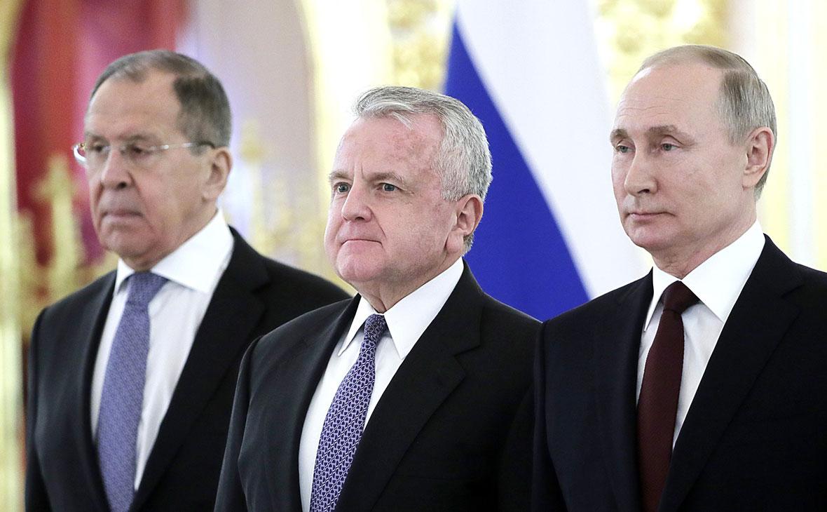 Сергей Лавров,Джозеф Салливан, Владимир Путин