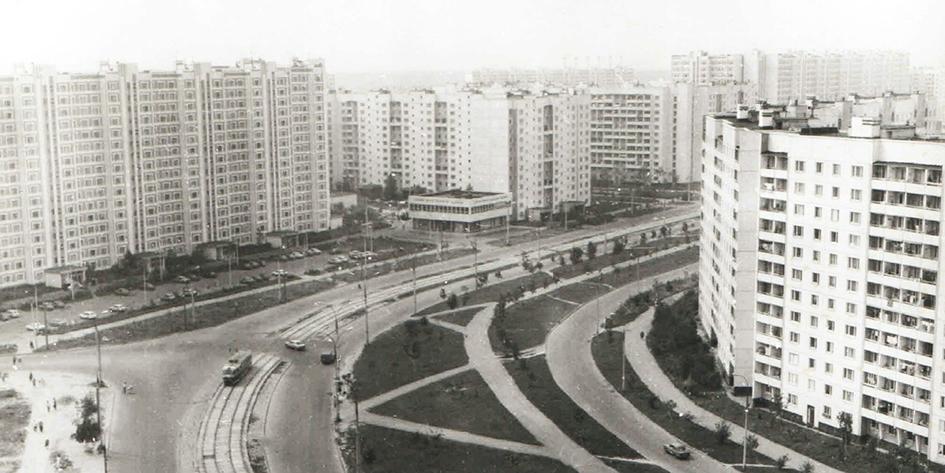 Район Медведково. Автор Н. Лычагин. 1990 год