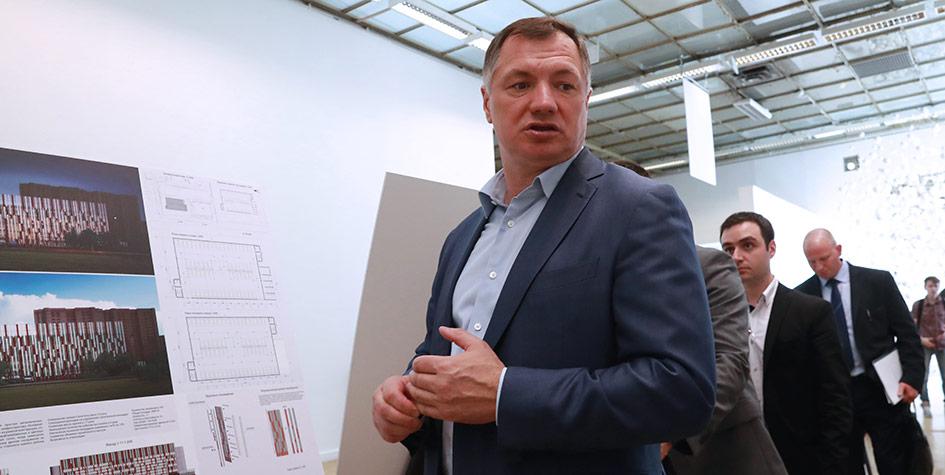 Заместитель мэра Москвы вправительстве Москвы повопросам градостроительной политики истроительства Марат Хуснуллин