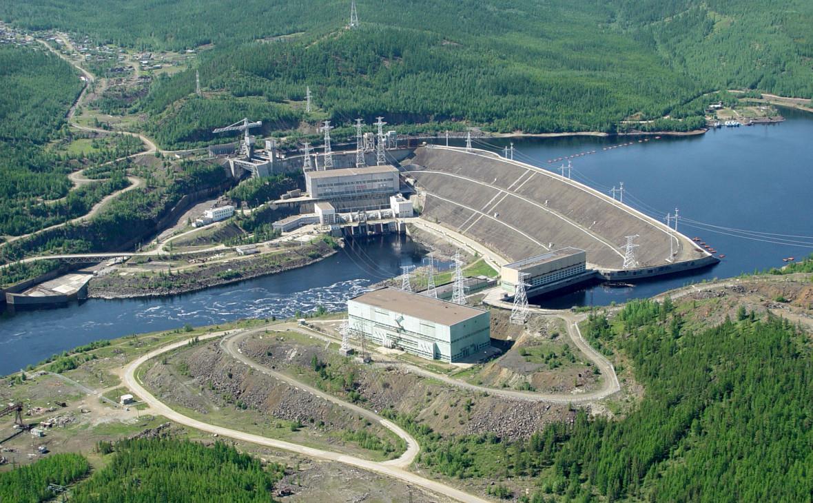Панорама Вилюйских ГЭС 1 и 2