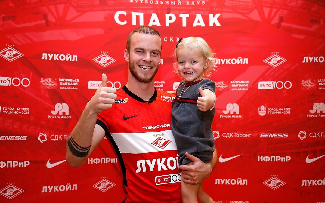Фото: пресс-служба «Спартака»