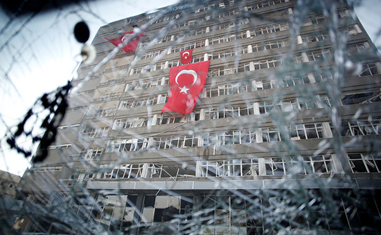 Штаб полиции в Анкаре