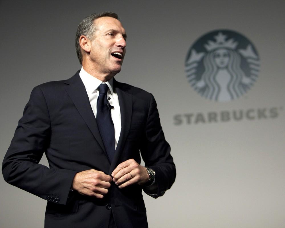 Генеральный директор Starbucks Ховард Шульц