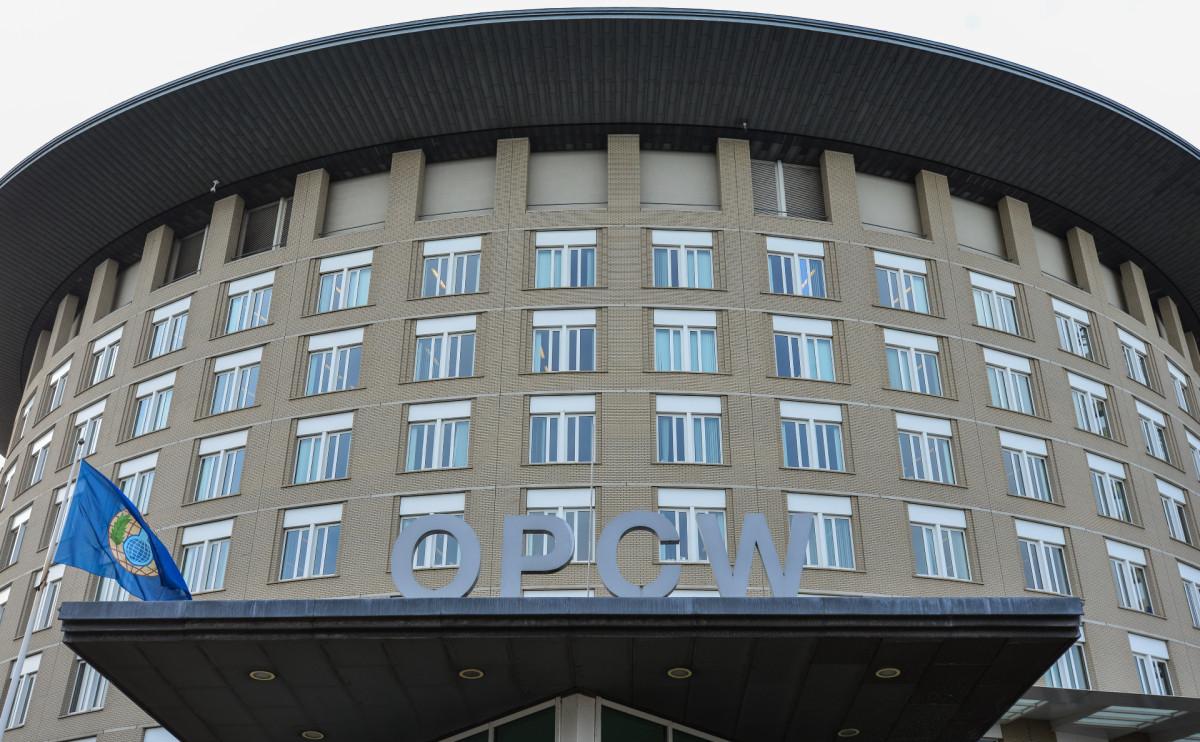 Вид на здание ОЗХО в Гааге