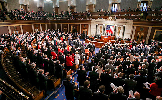 Заседание конгрессаСША, 2015 год