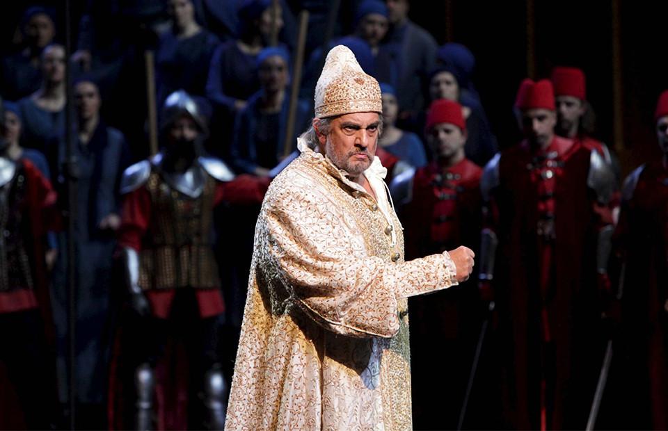 Сцена из оперы «Симон Бокканегра»