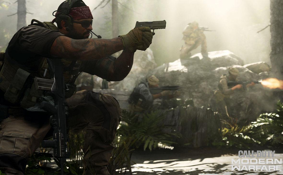Кадр из игры Call of Duty, разработанной компанией Activision Blizzard
