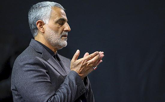 Иранский генерал Касем Сулеймани