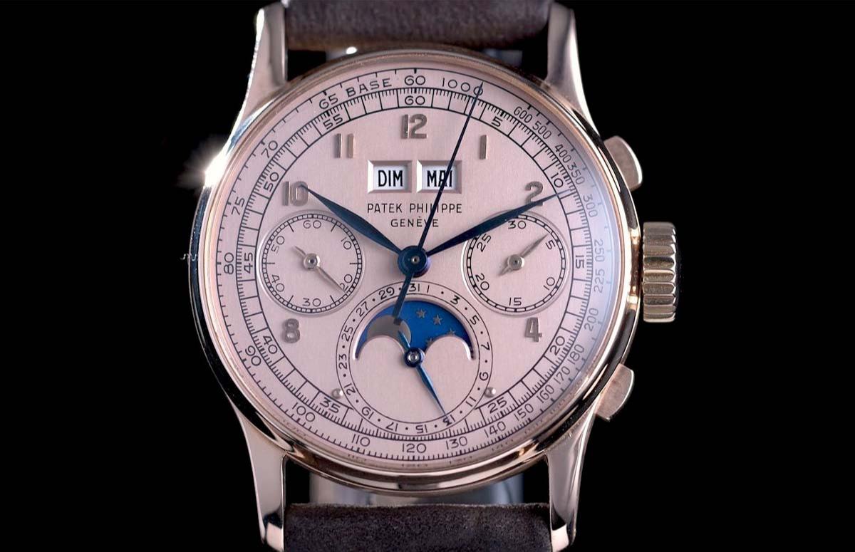 Часы Patek Philippe Ref. 1518
