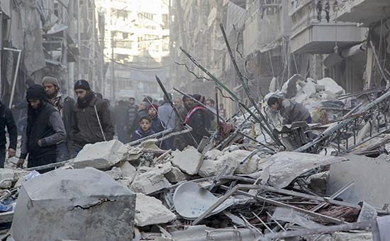 Ситуация в городе Алеппо