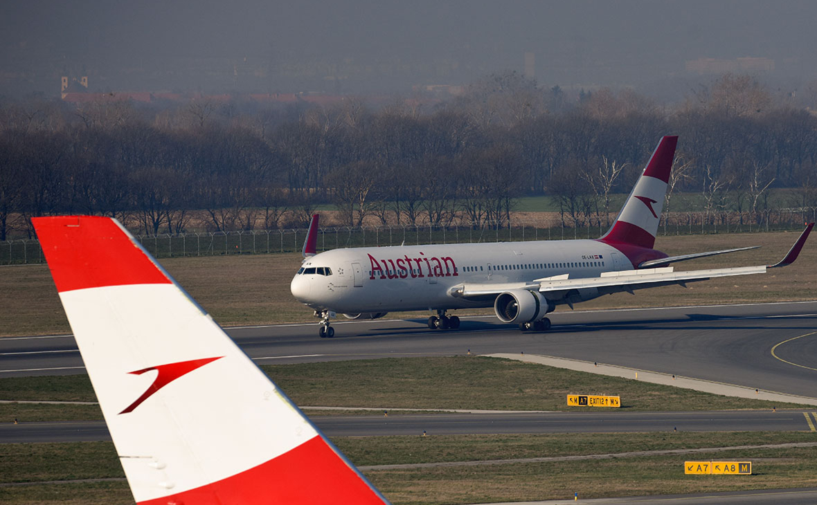 Austrian Airlines разрешили лететь в Москву в обход Белоруссии