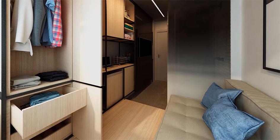 Проект 10-метровой квартиры