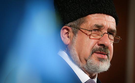 Глава меджлиса крымского-татарского народа Рефат Чубаров