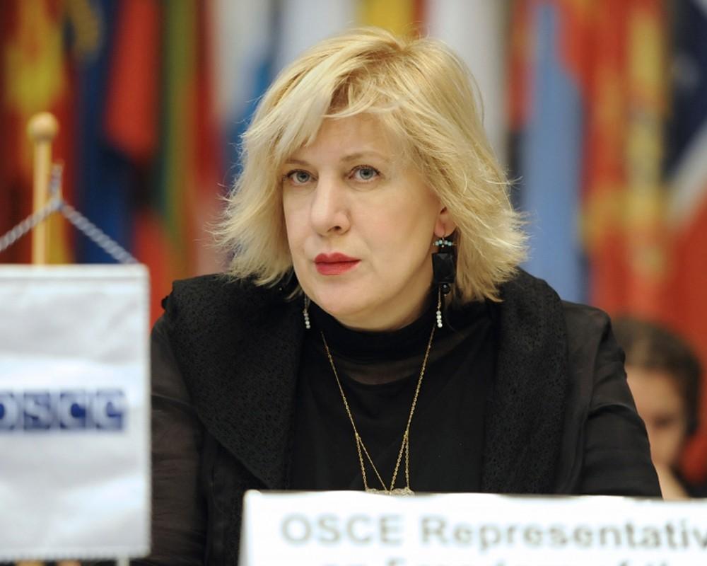 Представитель ОБСЕ по вопросам свободы СМИ Дунья Миятович