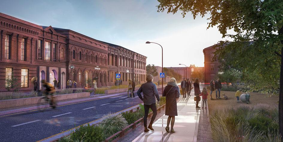Концепция развития Морозовского городка