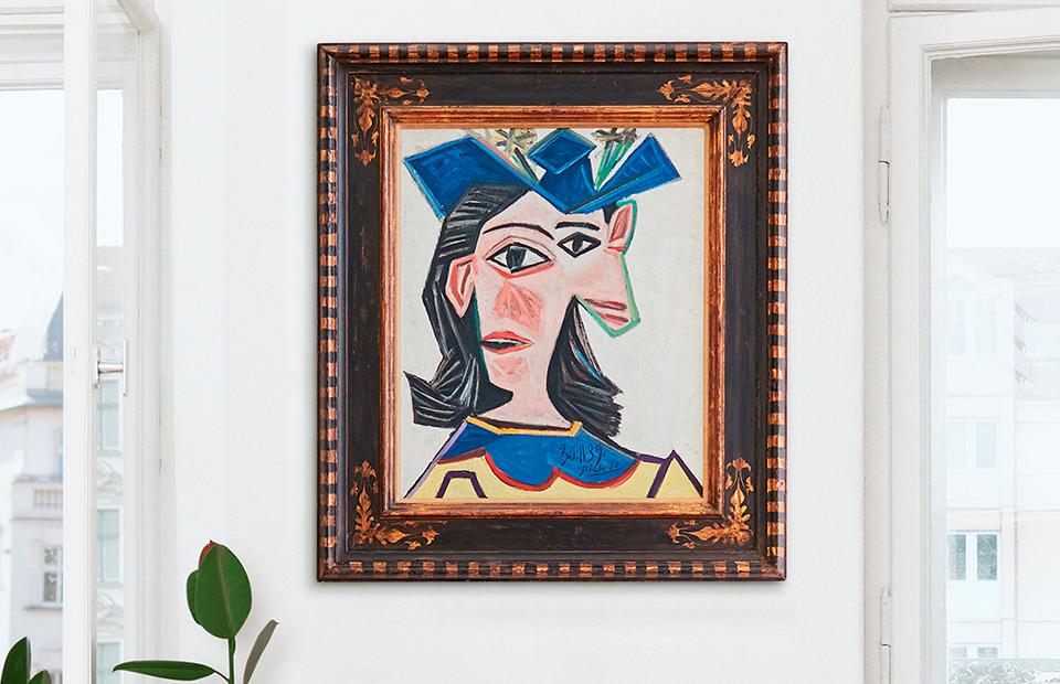 Пабло Пикассо. «Бюст женщины в шляпе (Дора)», 1939