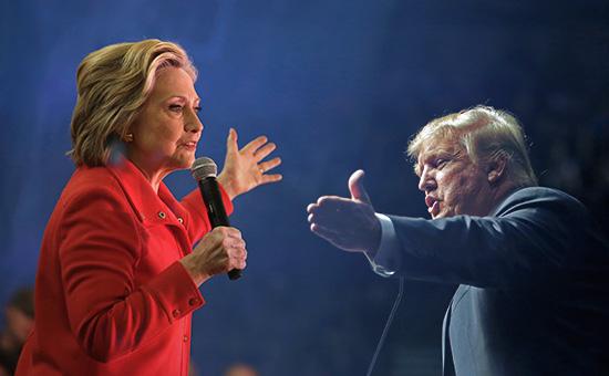 Хиллари Клинтон иДональд Трамп