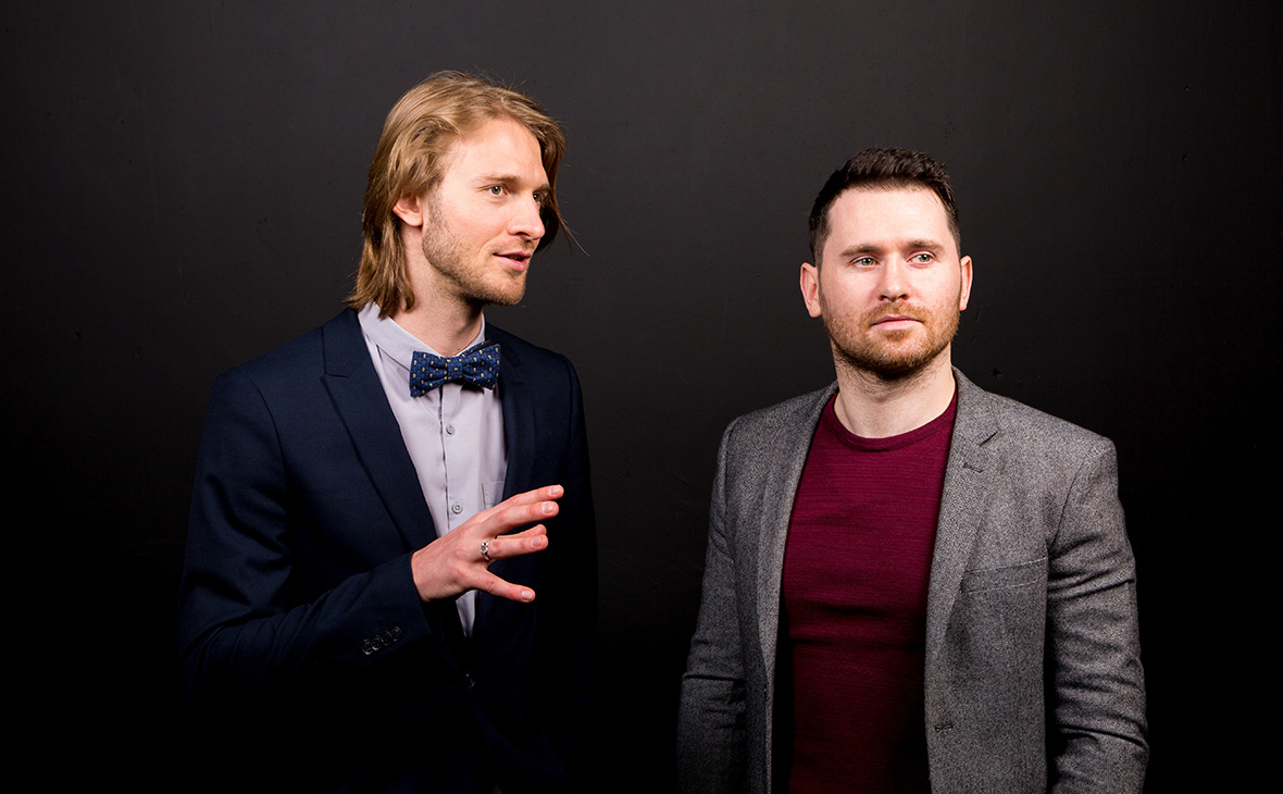 Кирилл Чикеюк (слева) и Артем Ставенко — сооснователи Kino-mo