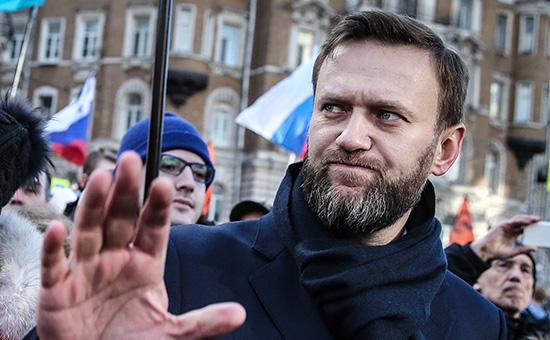 Глава Фонда по борьбе с коррупцией (ФБК) Алексей Навальный