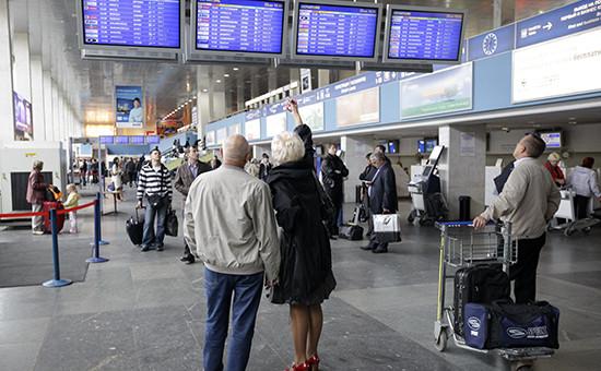 В международном аэропорту Внуково