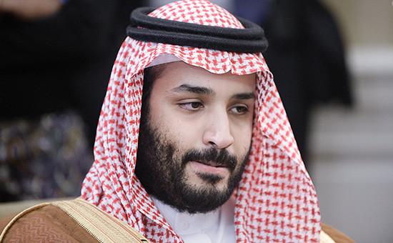 Министр обороны Саудовской Аравии принц Мухаммед бен Сальман