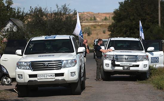 Работа мониторинговой миссии ОБСЕ в Донбассе