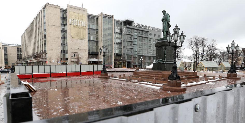 Бывшее здание редакции «Известий» наТверской
