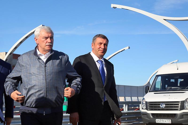 Губернатор Георгий Полтавченко и его заместительИгорь Албин