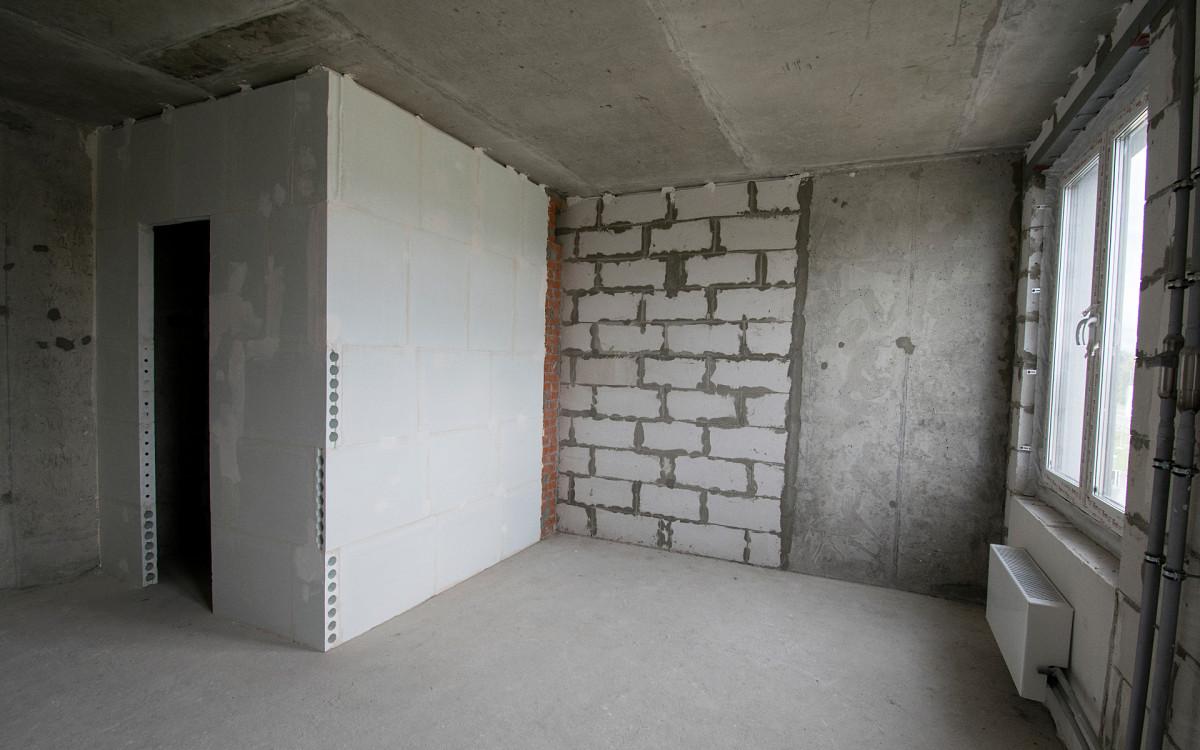 Квартира-студия в одной из новостроек Московского региона