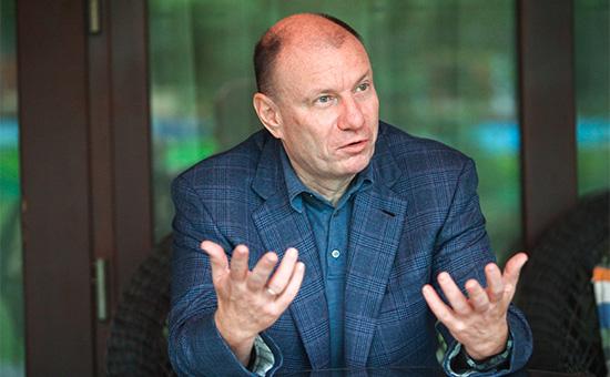 Президент холдинга «Интеррос», генеральный директор компании «Норильский никель» Владимир Потанин