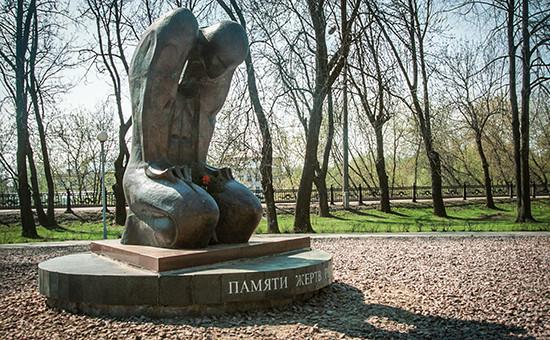 Памятник жертвам политических репрессий в Твери